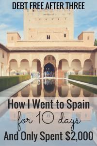 Spain for $2,000? Is that even possible? It is, and I'll show you how - and why - I went to Spain for only $2,000!