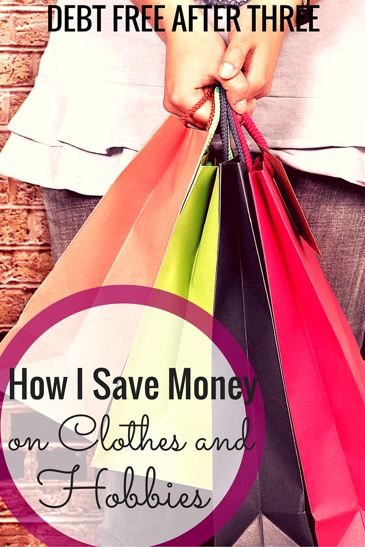 Yes, I do spend money on clothes & hobbies. But here's how I do and not spend too much!