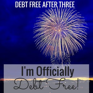 I'm officially debt free! My journey, how I did it, and my plans for the future here!