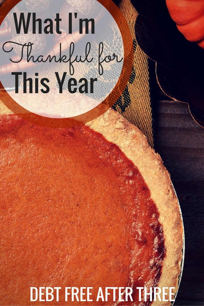 With Thanksgiving around the corner, it's time to talk gratitude and thankfulness. What are you thankful for this year?