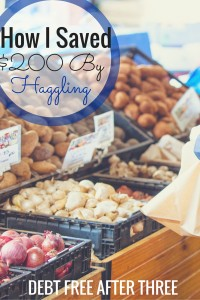 Here's my story of how I saved $200 by haggling, and how you can too!