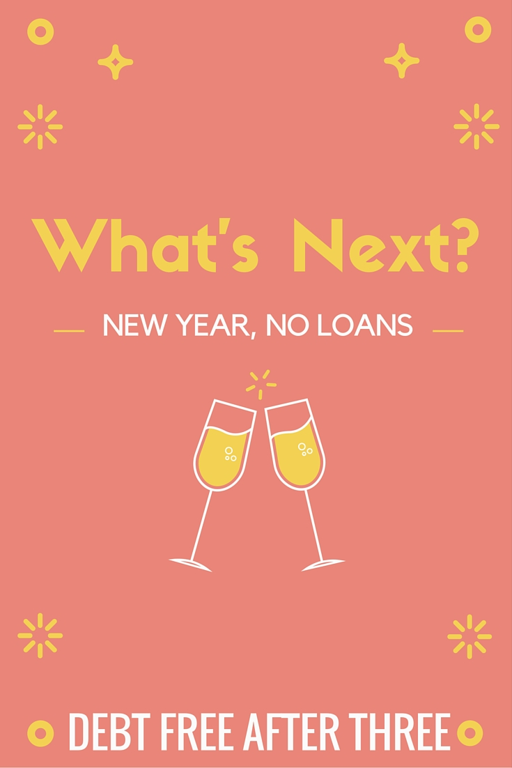 Now that I've paid off my loans, what's next? I hope you stay tuned for my journey!