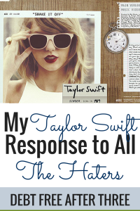 My Taylor Swift response to the haters