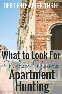 What to Look For When Youre Apartment Hunting