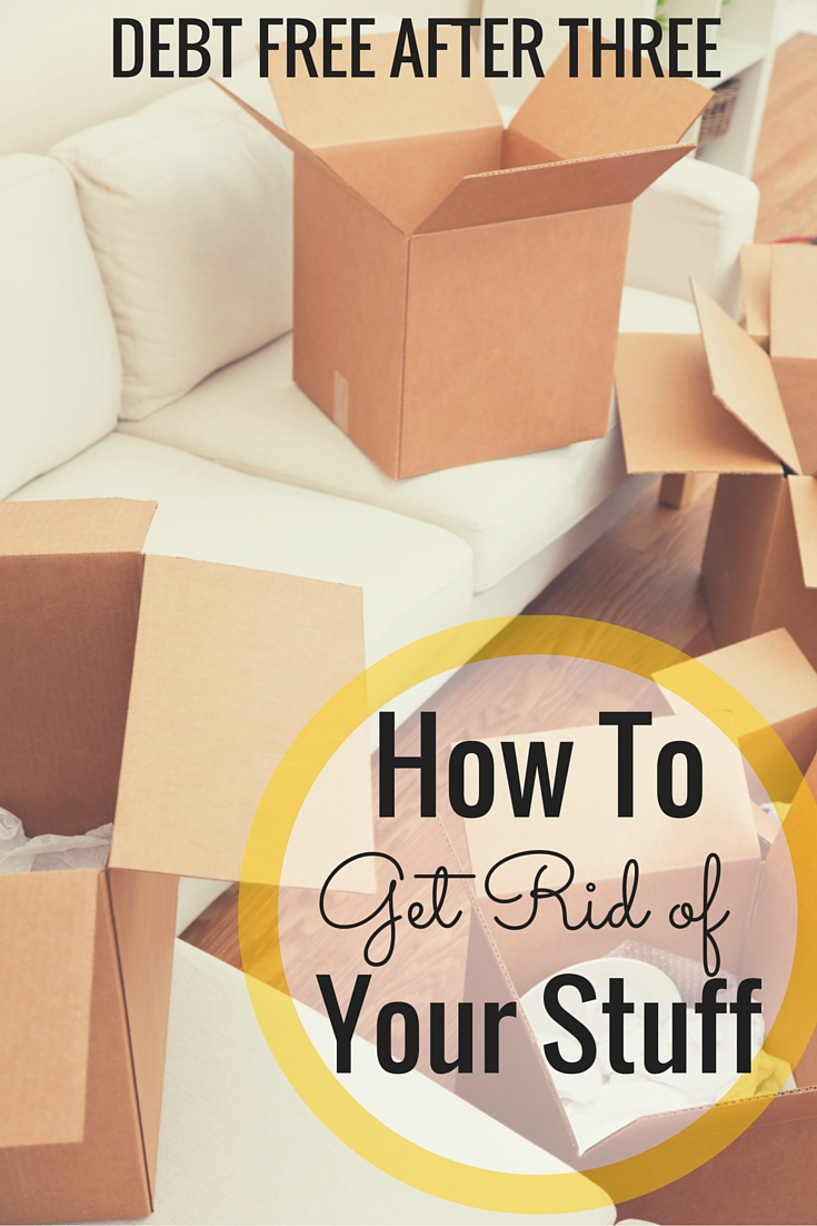 Moving soon? Here's how to get rid of your stuff efficiently and without spending much!
