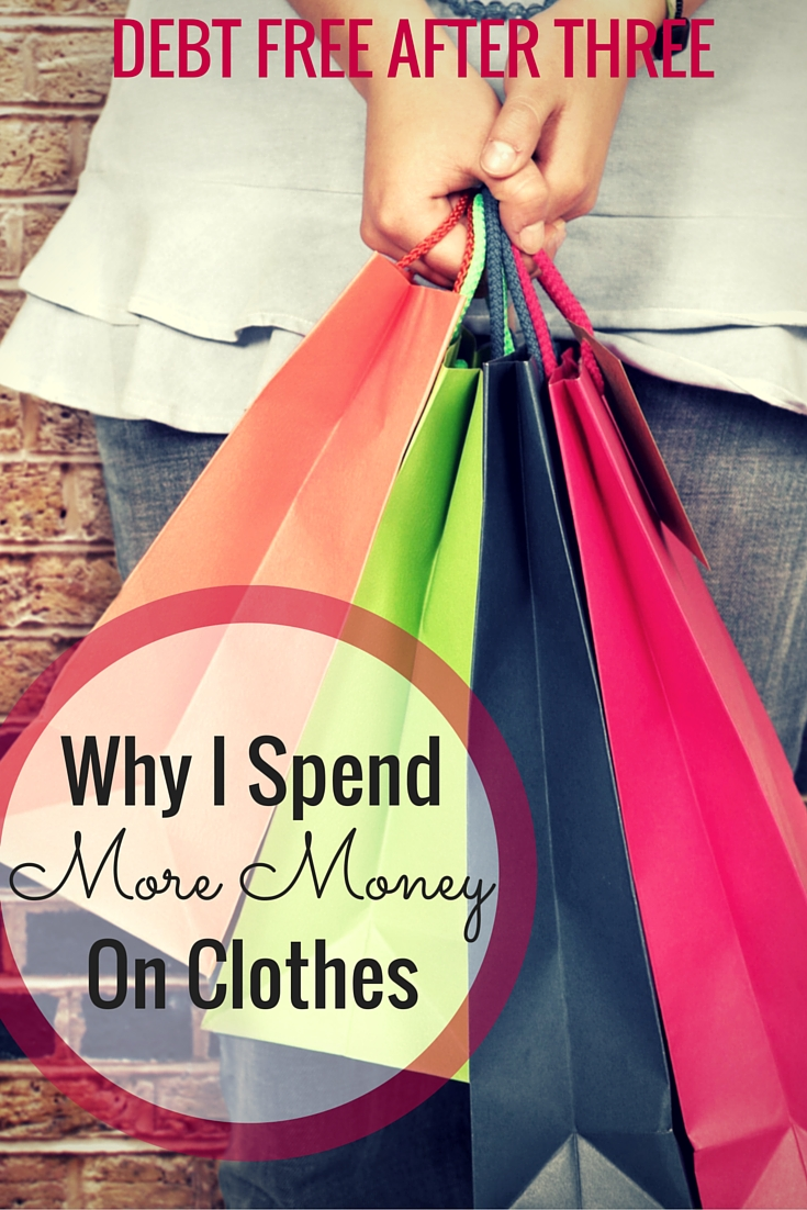 We all have that one thing we love to spend money on! For me, it's clothes. Here's why I spent more money on clothes - what's your splurge?