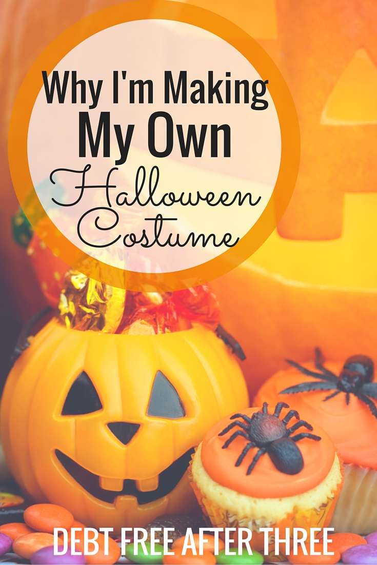 This year, I'm making my own Halloween costume! Why I've decided this is the year to DIY my Halloween costume.
