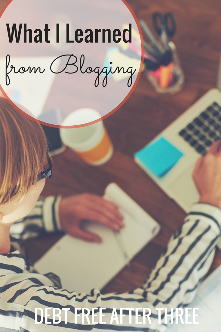 I've been blogging for a while now & have learned so much. Here's what I've learned from blogging - what have you learned or what do you want to know about starting a blog?