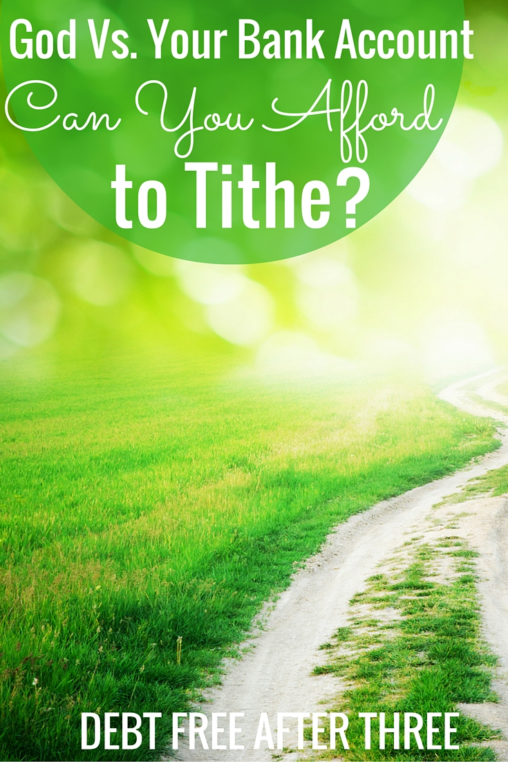 Many religions instruct the faithful to tithe, but can Americans even afford to do so? Here's what to consider before tithing.