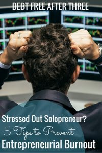 Are you a solopreneur feeling overwhelmed by work? Here's out to prevent entrepreneurial burnout.