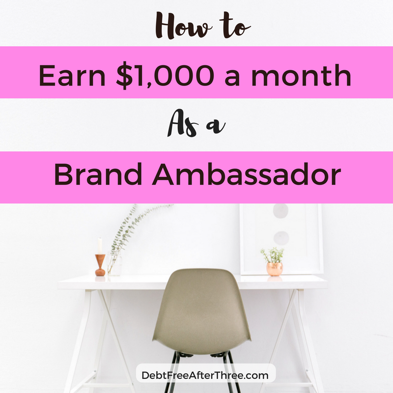 How to Earn $1,000 a month as a Brand Ambassador - Conscious
